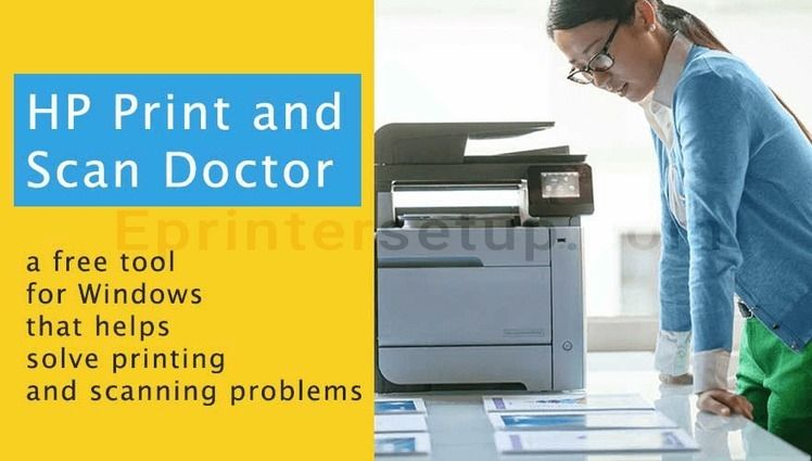 How do i open hp on windows pc printandscandoctor