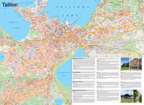 Tallinn city plan for tourists Extradurable Baltic Trip
