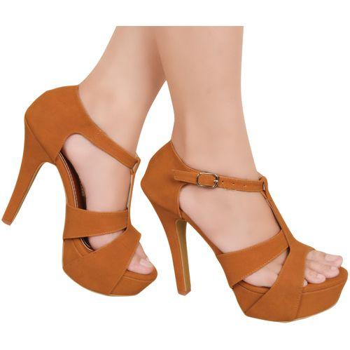 Sepatu High Heels Bernice Coklat Http Www Slightshop Com Produk