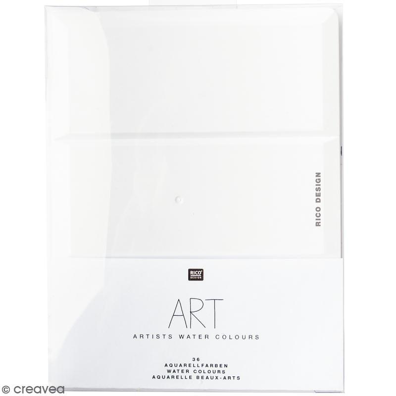 Aquarelle Beaux Arts Rico Design 36 Godets Aquarelle Beaux