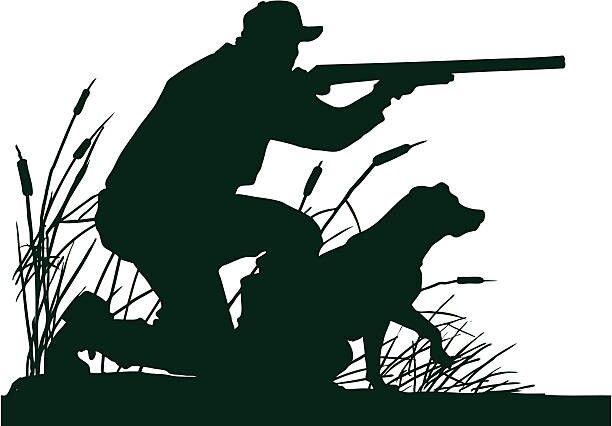 Картинки, картинки с охотником и собакой для рисунка шоколадом