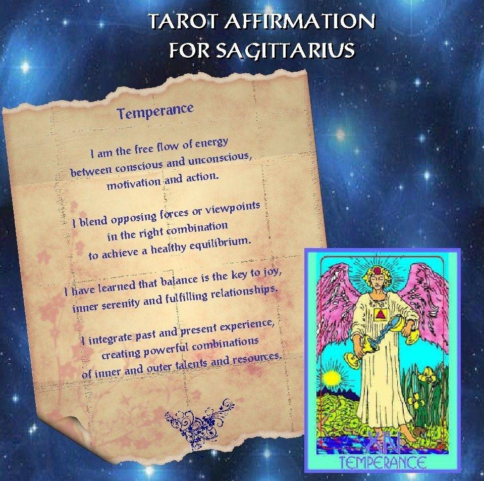 sagittarius tarot cards