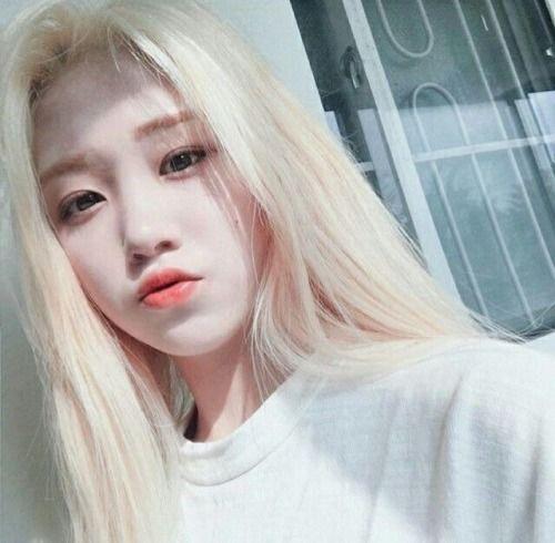 Blonde Ulzzang Girl Blonde Asian Uzzlang Girl