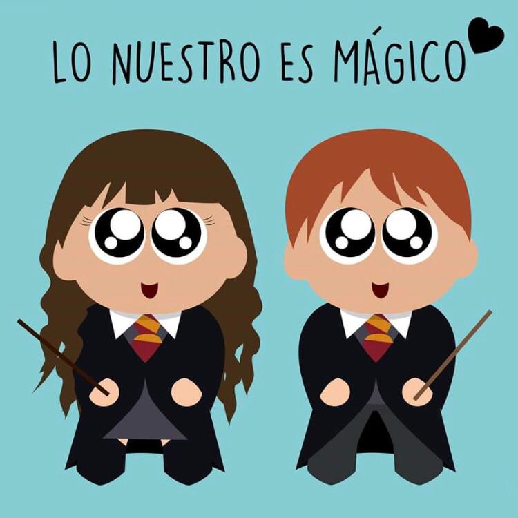 Lo Nuestro Es Magico Harry Potter Comics Love Funny Love Harry Potter