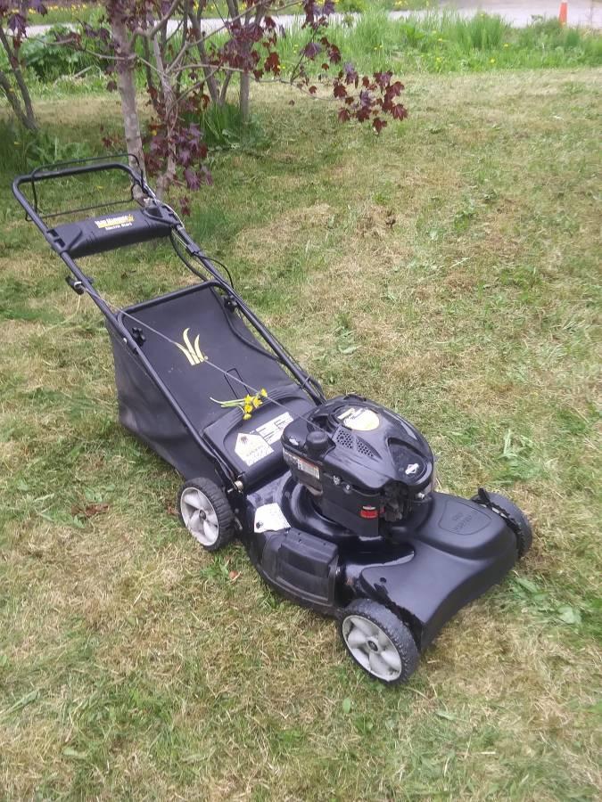 Yard Machines 21 190cc Push Lawn Mower Push Lawn Mower Yard Machine Lawn Mower