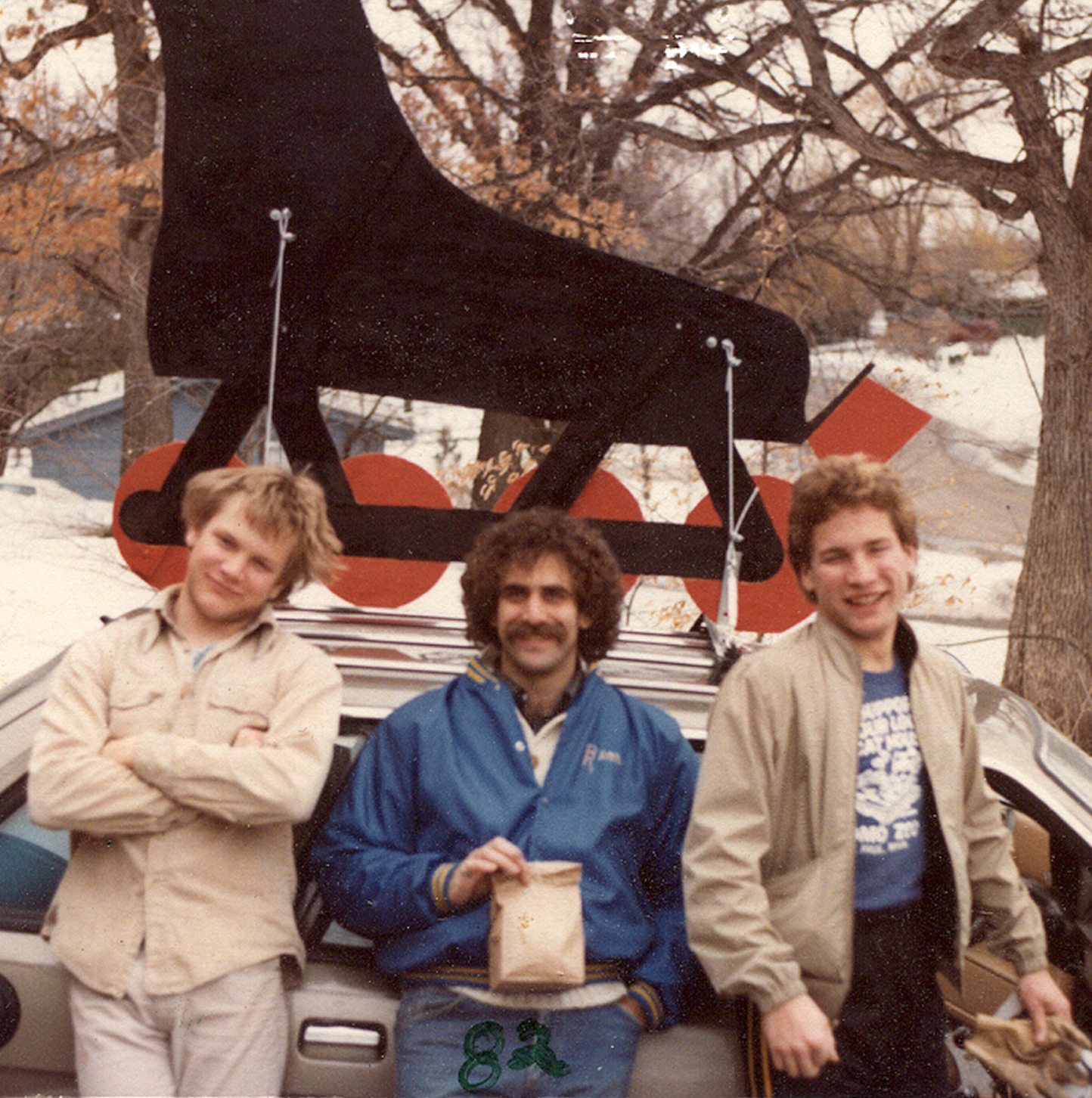 1982 heading off to our first SIA ski show in Las Vegas