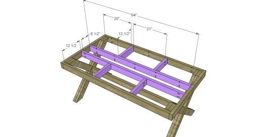 Genial Free DIY Furniture Plans To Build A Rustic Outdoor Table   The Design  Confidential