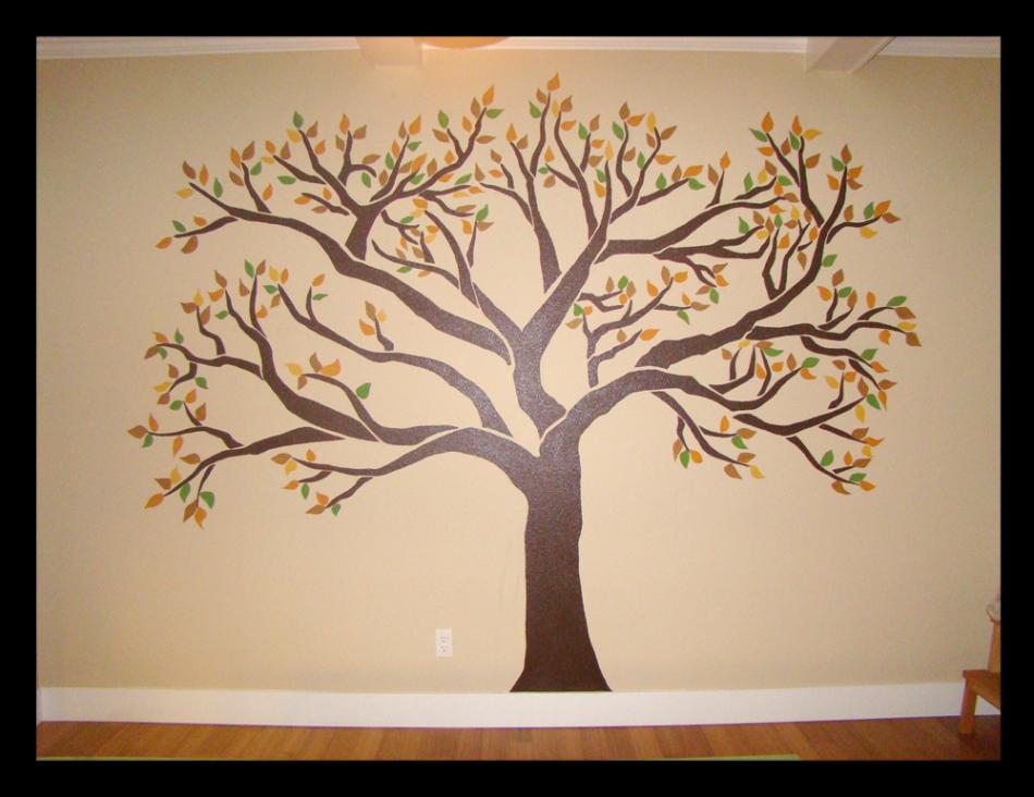 Joann gangbusters Newest Mural ? Family Tree Chris