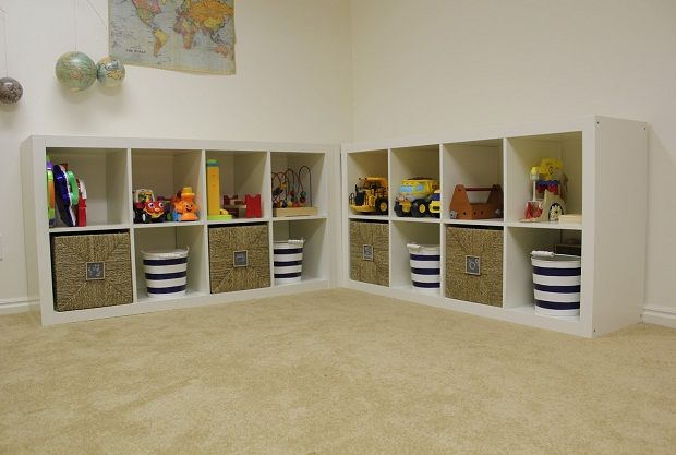 Delightful Storage Ideas For Family Rooms | Toy Storage Ideas Family Room