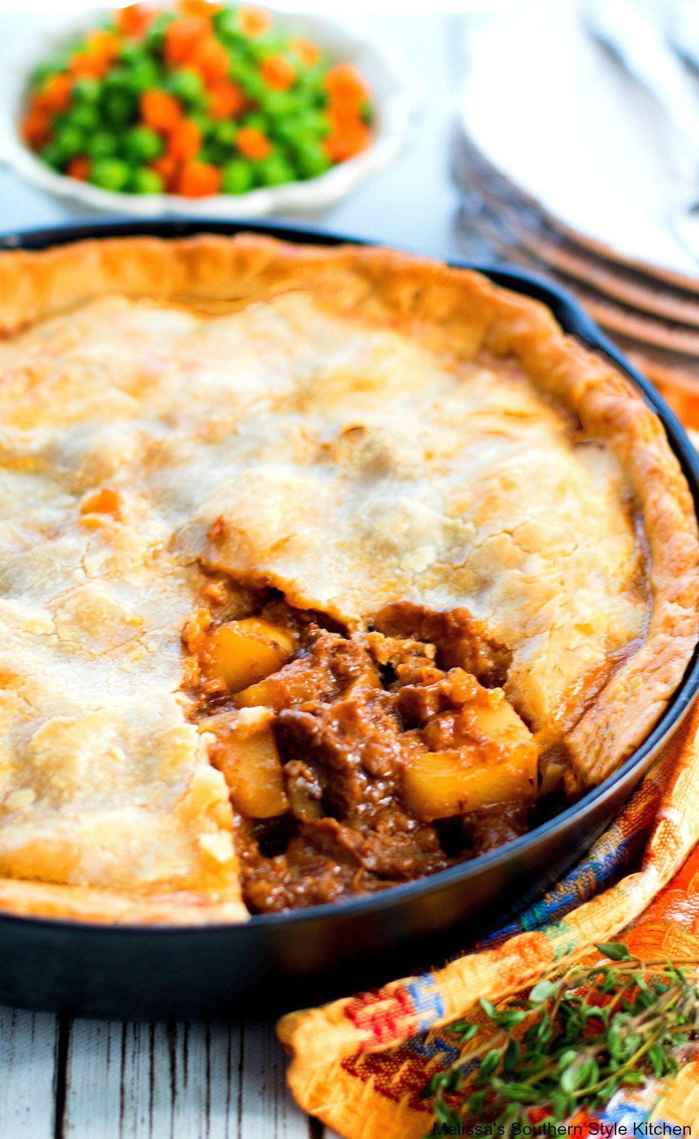 Steak and Potato Pie - melissassouthernstylekitchen.com in ...