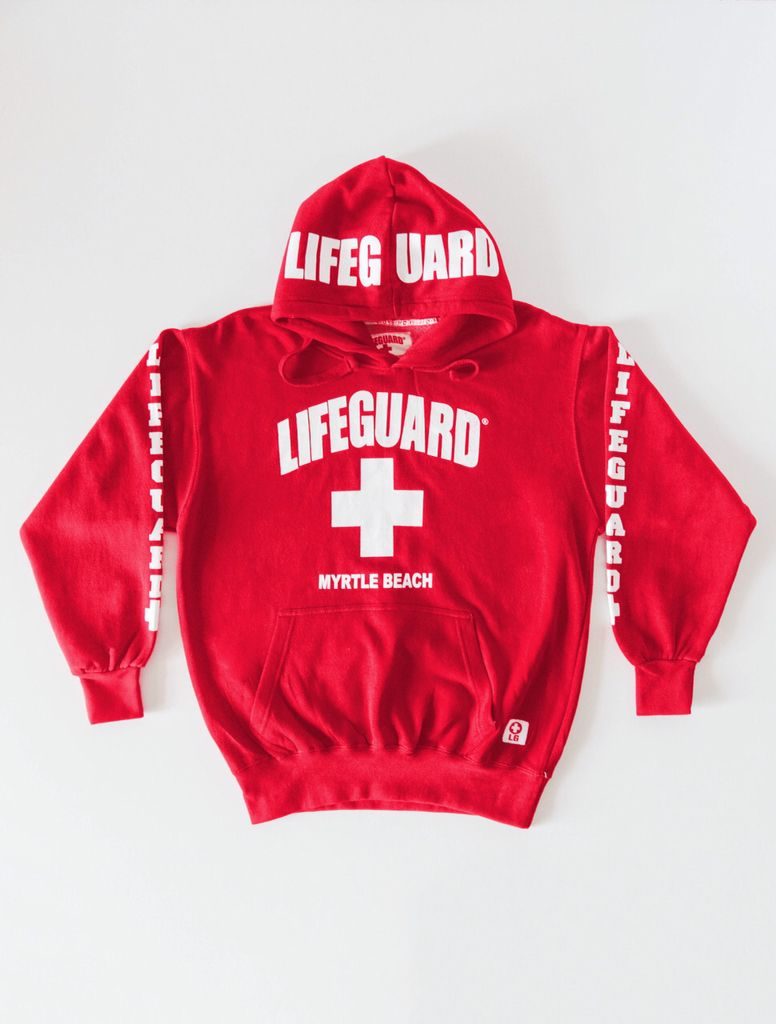 410225900191a0 Myrtle Beach lifeguard hoodie