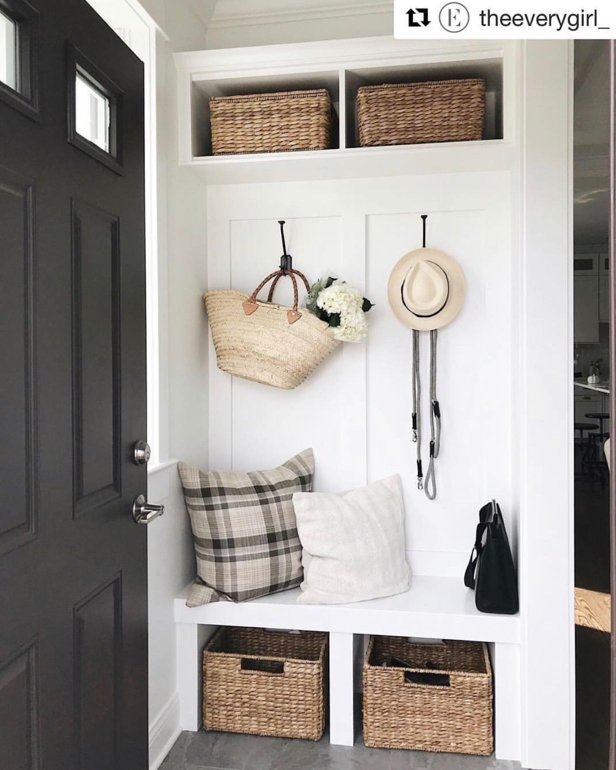 Closet Ideas Mudroom Design: #Entryway. Style And Function. #organize