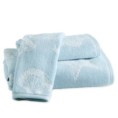 Highland Dunes Citlali Shell 100 Cotton Hand Towel Towel
