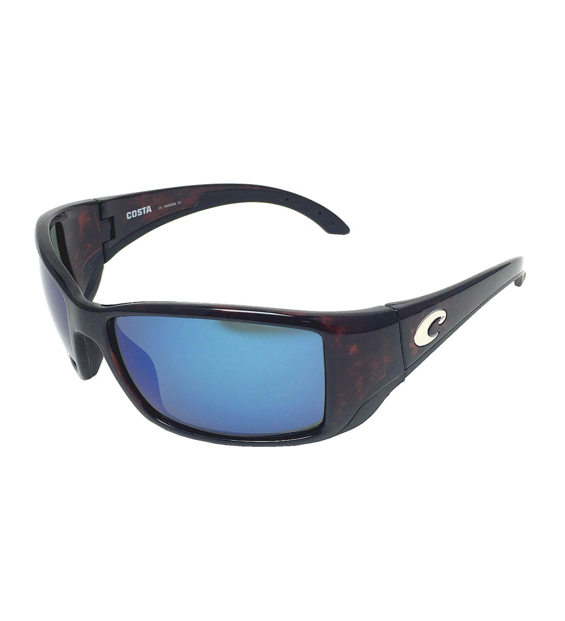 43a870d7d5 Costa Del Mar Blackfin 580G Tortoise Blue Mirror Polarized Sunglasses