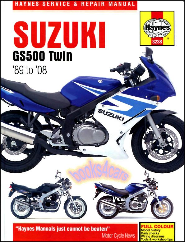 Details about GS500 SUZUKI SHOP MANUAL SERVICE REPAIR BOOK ... on