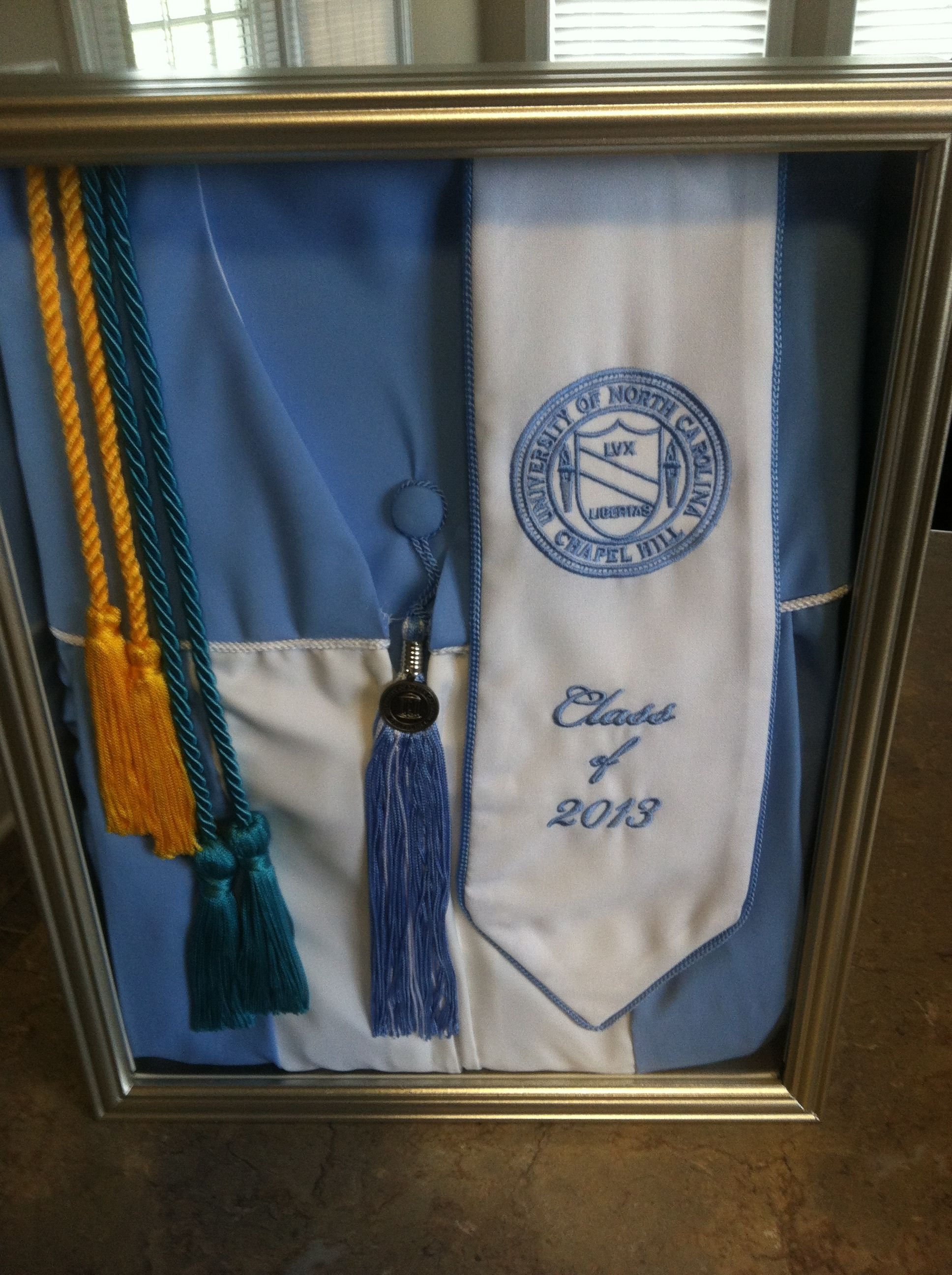 Rather than hanging my cap and gown in the closet to never been seen ...