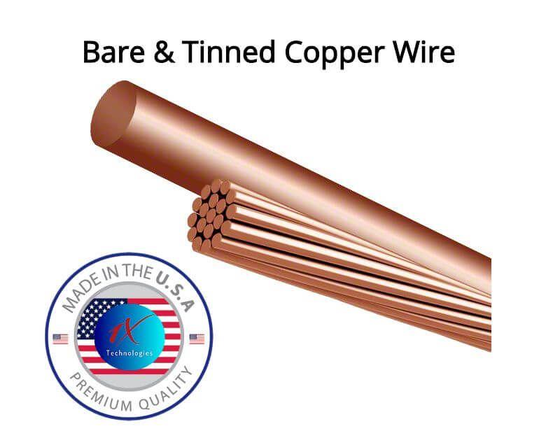 Stranded Bare Copper Wire Tinned Copper Wire Copper Wire Tin Copper