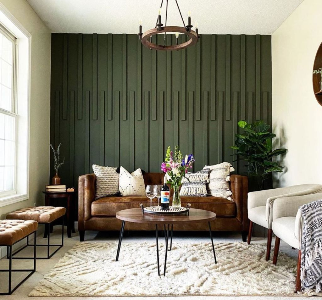 Budget Friendly Diy Accent Wall Ideas Accent Walls In Living Room Home Decor Green Accent Walls
