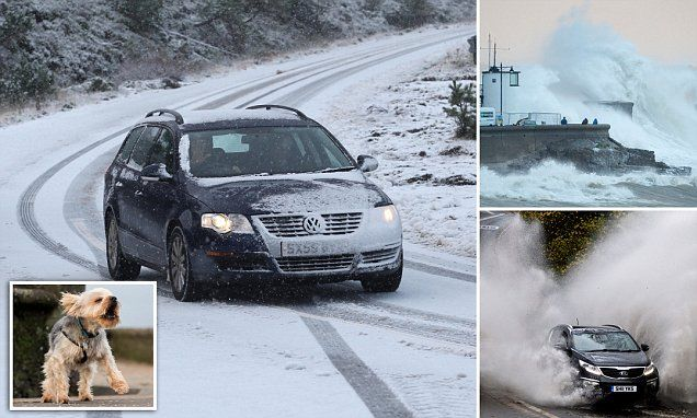 UK rocked by power cuts and school closures as storm Abigail arrives