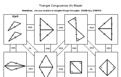 Triangle+Congruence+-+4+MAZES+(SSS,+SAS,+ASA,+AAS,+HL)+from+ ...