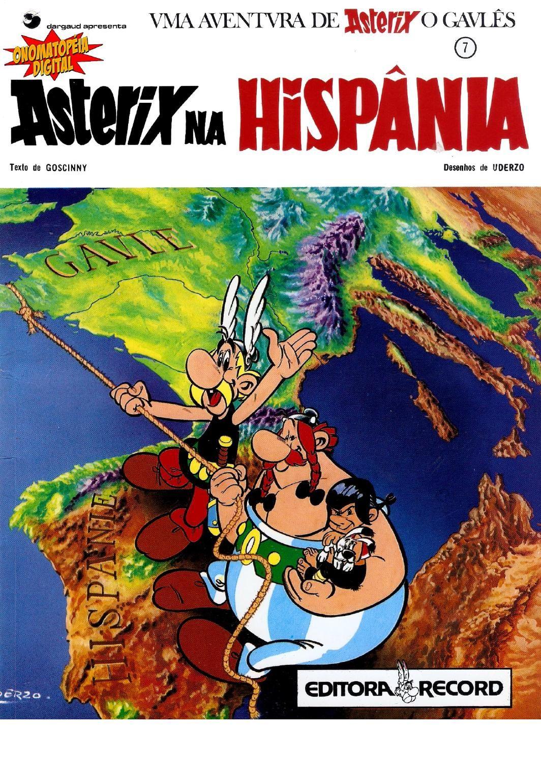 Asterix Na Hispania 07 De 36 Children S Comics Classic Cartoon Characters Retro Comic
