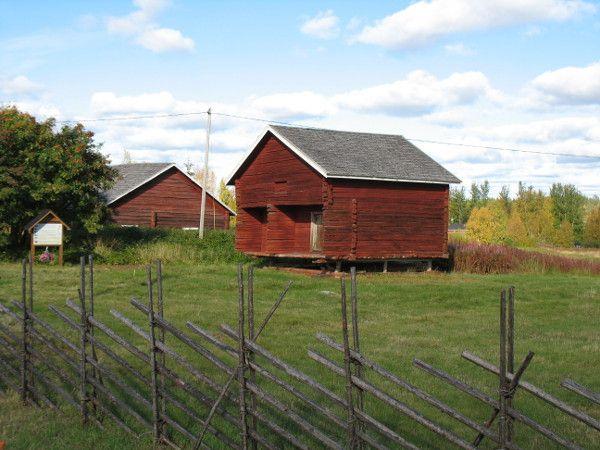 Kairala village in the municipality of Pelkosenniemi in Finnish Lapland.