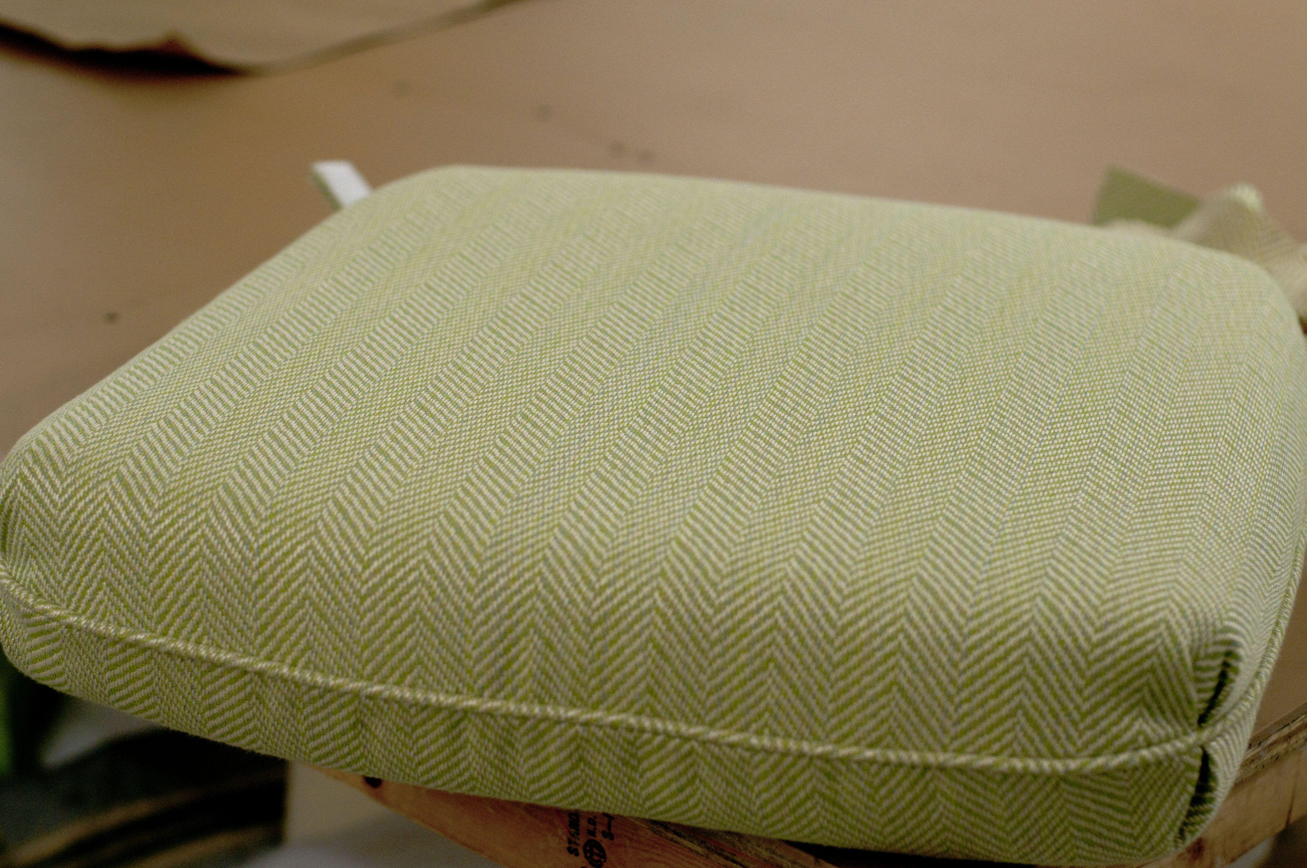 custom indoor chair cushions. Custom Cushion In Sunbrella Posh Lime. CushionsChair CushionsLimes Indoor Chair Cushions O