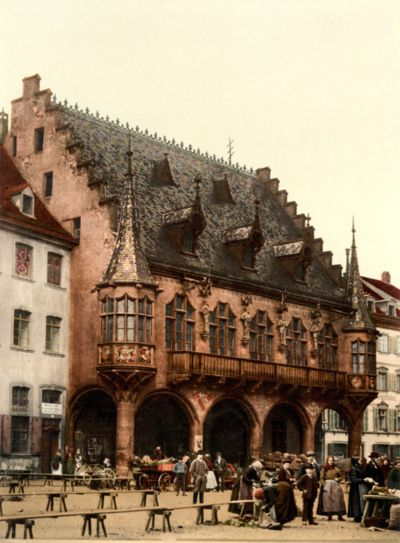 The Market Hall, Freiburg, Germany