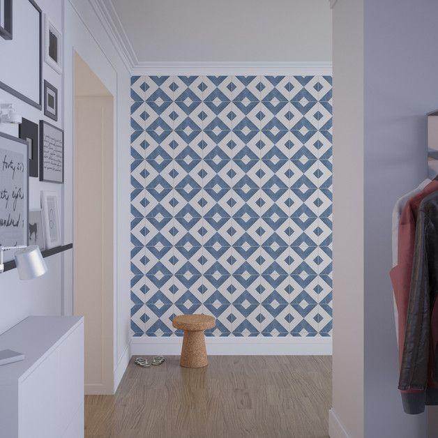 Marokkanischer Fliesenaufkleber - 10 x 10 cm Diy design
