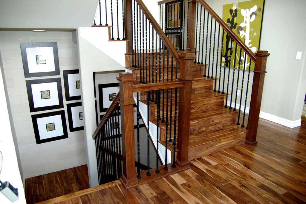 Best Originals Solid Acacia Hardwood Stairs And Floor Acacia 400 x 300