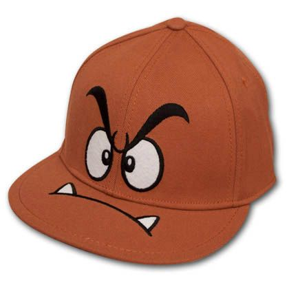 af943db22481 Nintendo Super Mario Bros. Goomba Fitted Hat | Accessories | Super ...