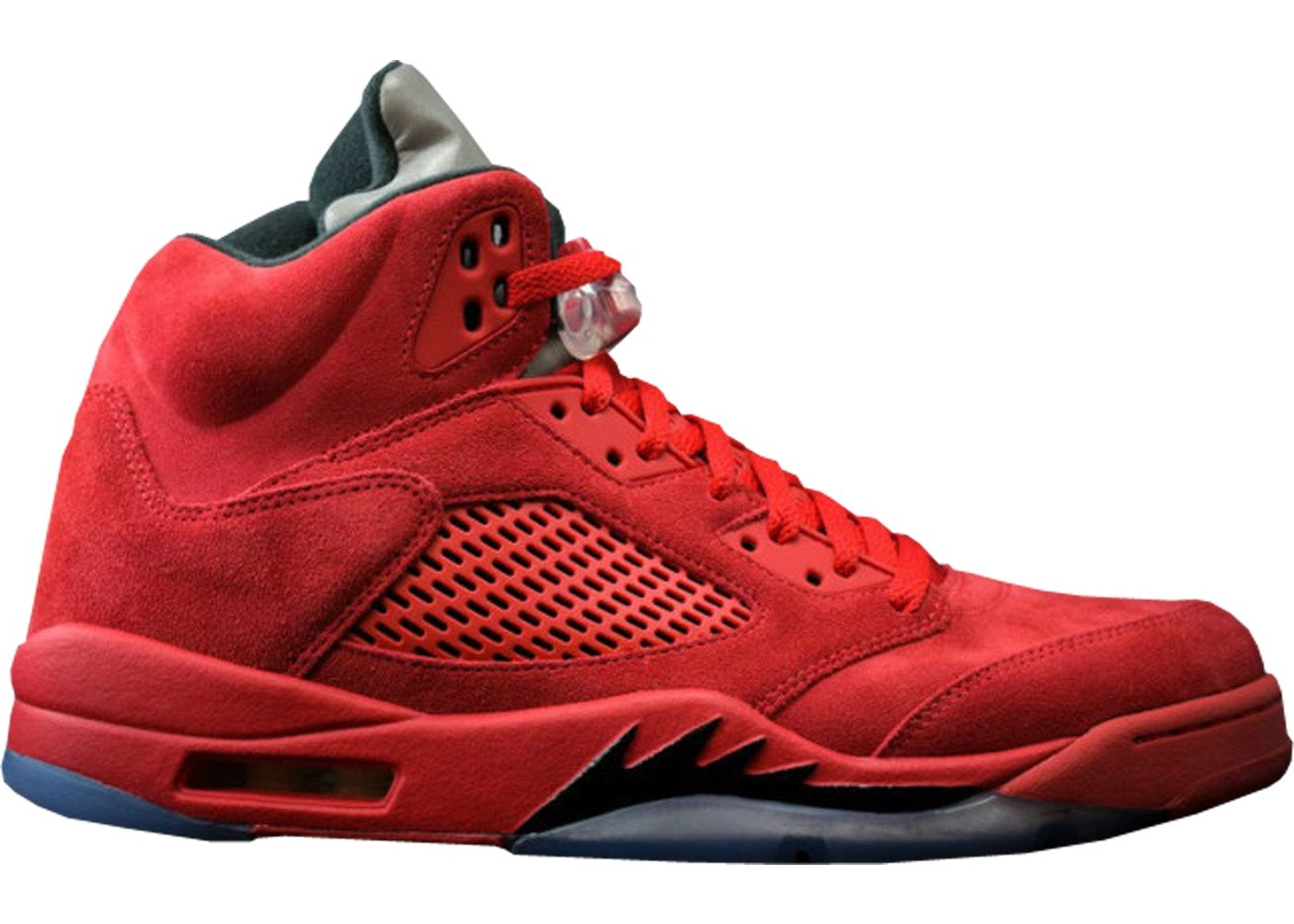 6bda934e Jordan 5 Retro Red Suede | sneaker | Jordans, Air jordans, Red suede ...