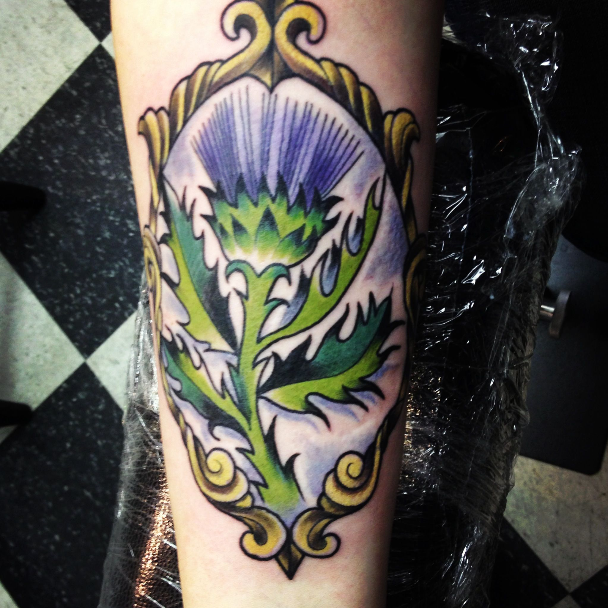 Scottish Thistle Tattoo Ideas: Scotland Tattoo, Thistle