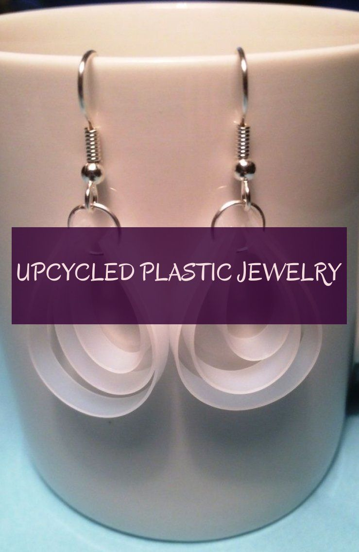 upcycled plastic jewelry
