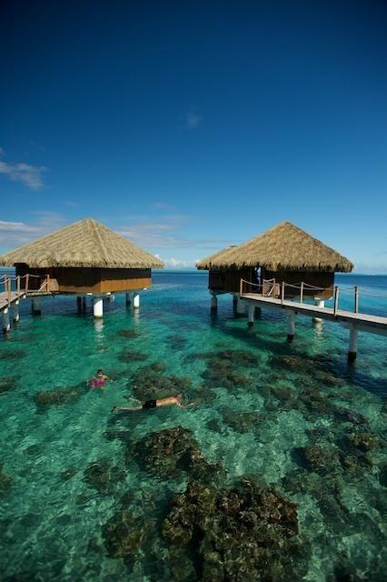 Tahitiu0027s 20 Best Overwater Bungalow Resorts