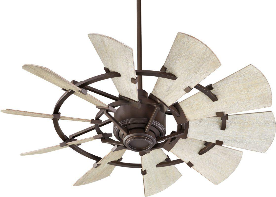 60 Turbina Industrial Oil Rubbed Bronze Ceiling Fan U4514 Y2846 80507 Lamps Plus Farmhouse Ceiling Fan Bronze Ceiling Fan Ceiling Fan