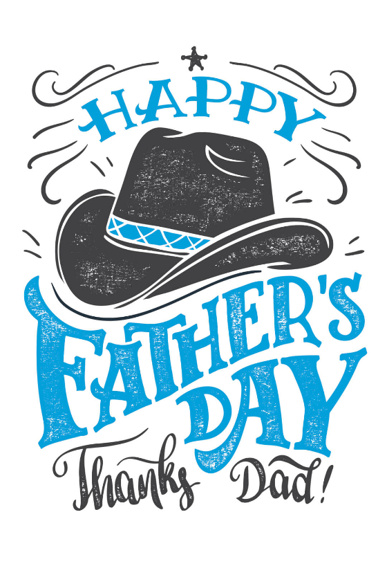 Father/'s Day Card for the best daddy in the world Birthday White grey with flowers Handlettering B\u00fctte Greeting card with envelope for Father/'s Day