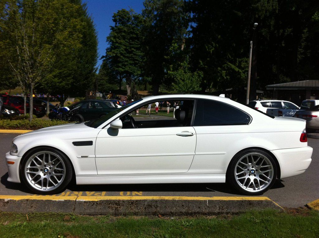 Alpine White E46 M3 6 Speed MINT  E46Fanatics  BMW M3