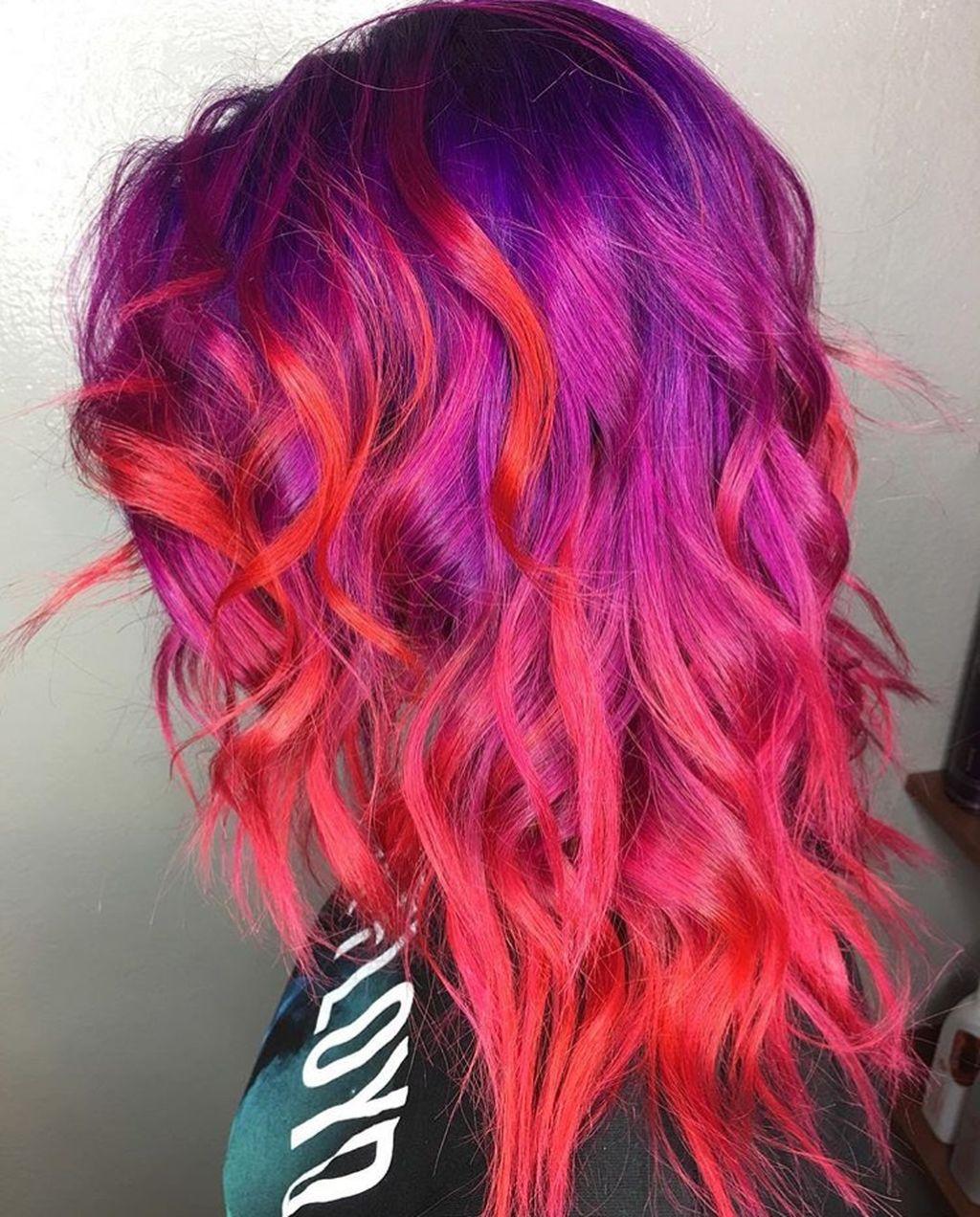 30 Cool Hair Color Ideas Sunset hair, Brown ombre hair