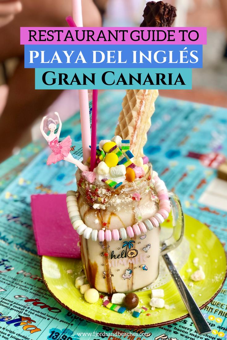 Restaurant Guide To Playa Del Ingles And Maspalomas Gran Canaria Spain Food Foodie Travel Travel Food