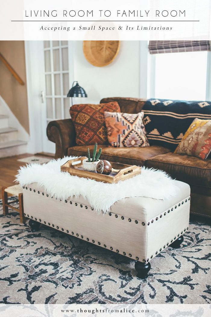 Living Room Ottoman Ideas Furniture Covers Interior Decorating Advice For The Challenged Thoughts From Alice Decor Boho Rugs