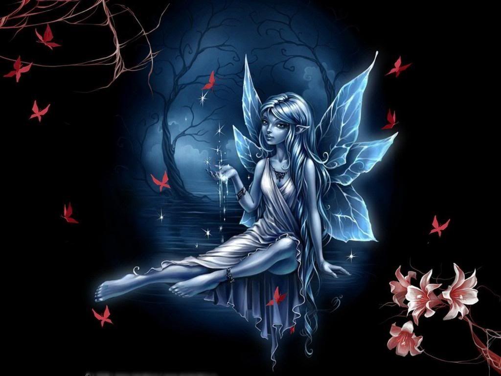 Gothic Fairies Wallpaper Desktop DIs 1024 X 768 Px 23631 KB Cute Nature Beautiful Magical