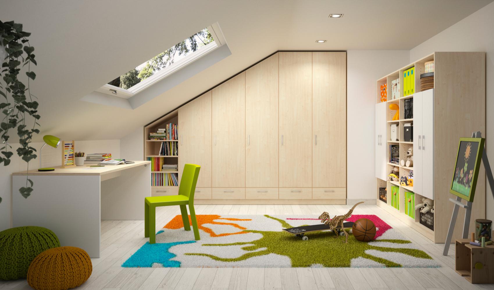Kinderzimmer Befinden Sich Haufig Unterm Dach Um Dort Den
