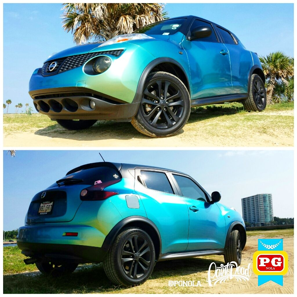 Delicieux Finally Near Completion Of Da Juke Wrap. The Chameleon Flip Flop Sea Foam  Greenu2026 | Инста | Pinterest | Nissan Juke, Nissan And Cars
