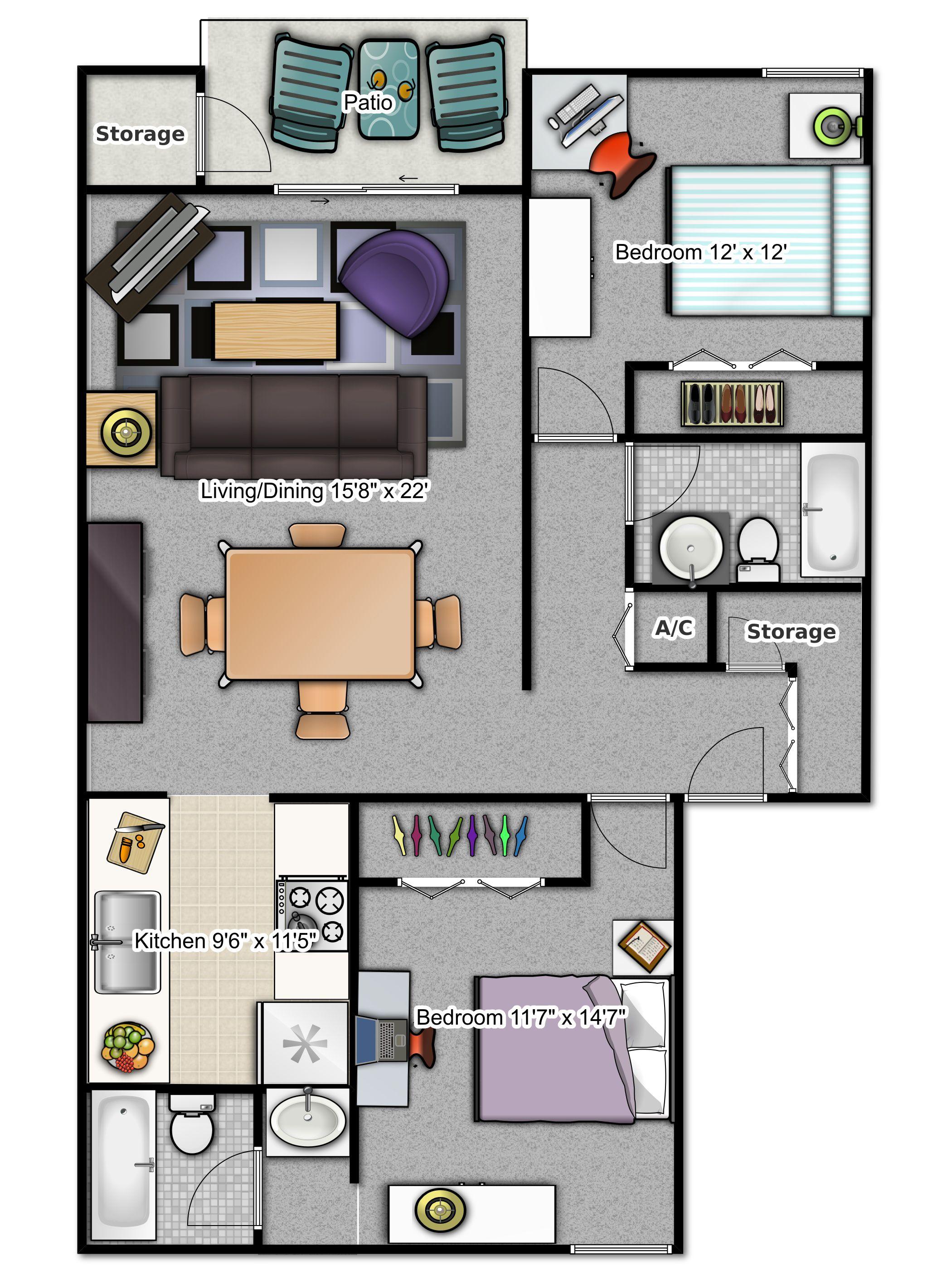 Phase 1   2 Bedroom Apartment At #Stoneridge Apartments, #Gainesville, FL
