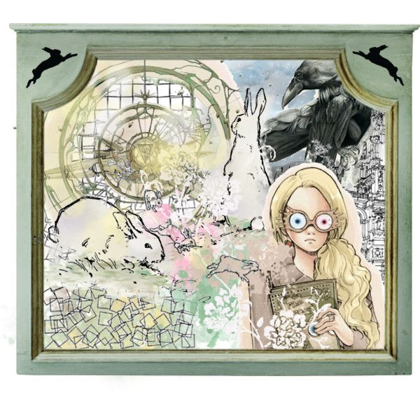 Tribute to Luna Lovegood by krilnox on polyvore