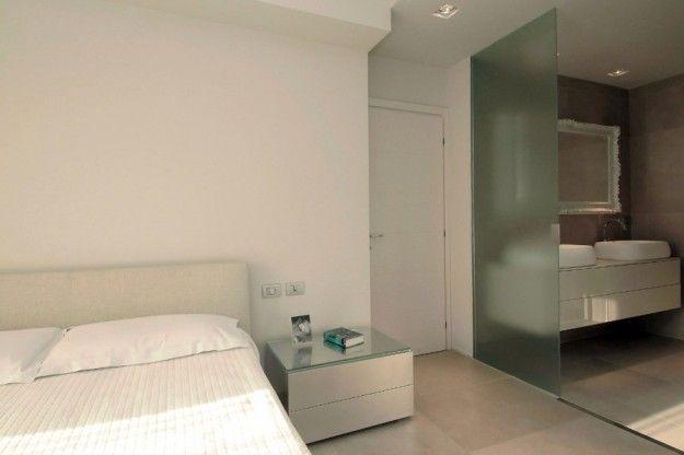 Ristrutturare casa - Porta in vetro per bagno in camera | Cameras ...