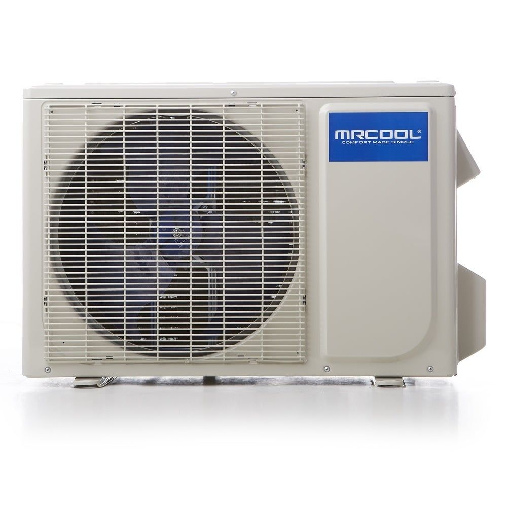 Advantage 3rd Gen 12 000 Btu 1 Ton Ductless Mini Split Air Conditioner And Heat Pump 230v 60hz White Mrcool In 2020 Ductless Heat Pump Heat Pump Heat Pump System