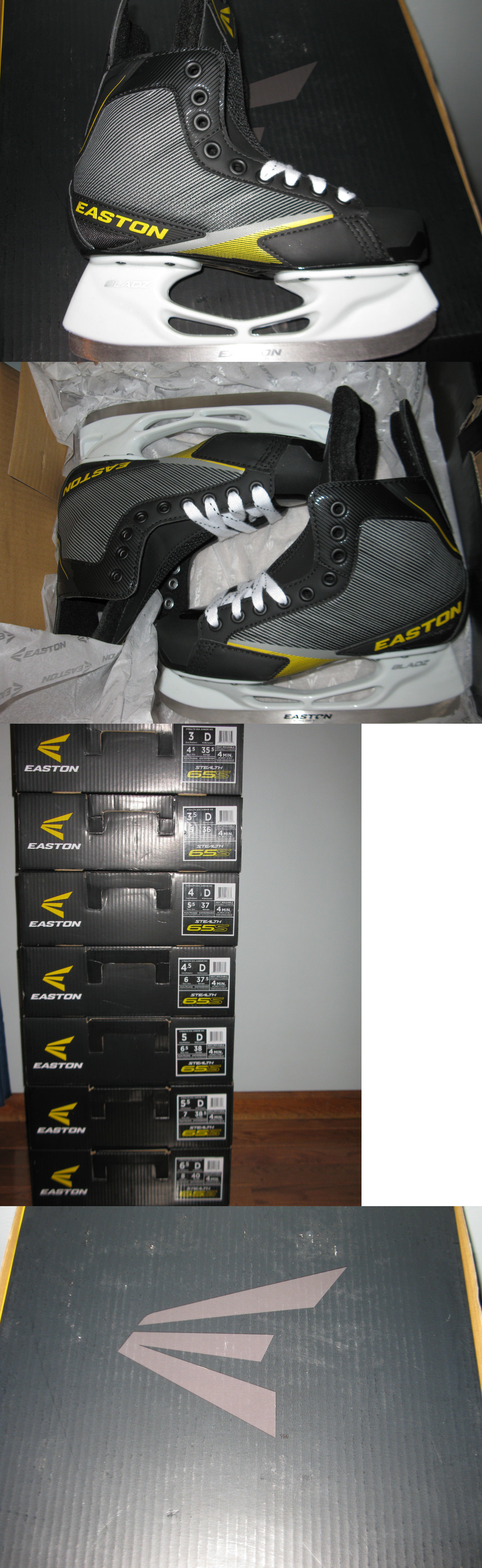 Ice Hockey-Youth 26342: Easton Stealth 65S Skates - Junior 4.5 D -> BUY IT NOW ONLY: $40 on eBay!