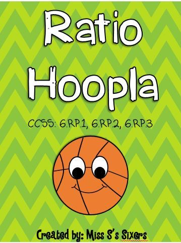 Ratio Hoopla Tpt Math Lessons Grade 6 Math Math